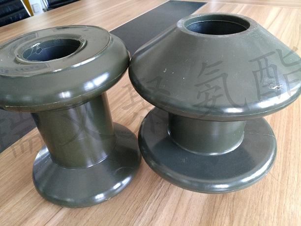 高耐磨聚氨酯钢丝绳索导向轮