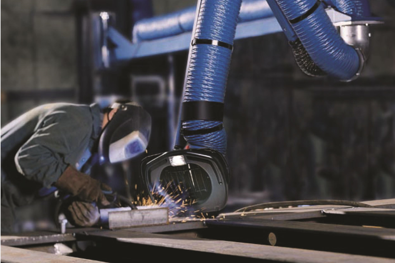 焊烟净化器是怎样净化烟尘的