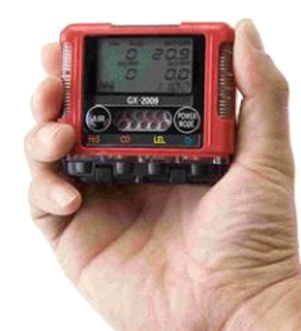 理研便携式气体探测仪GX2009