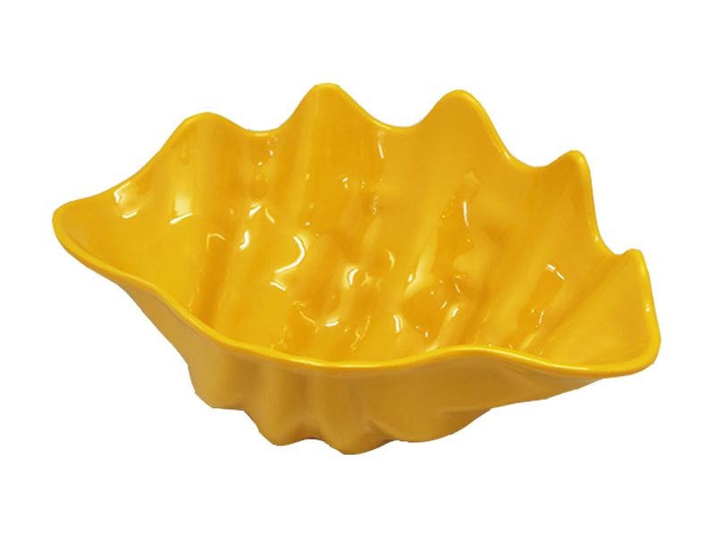 深贝壳异形碗