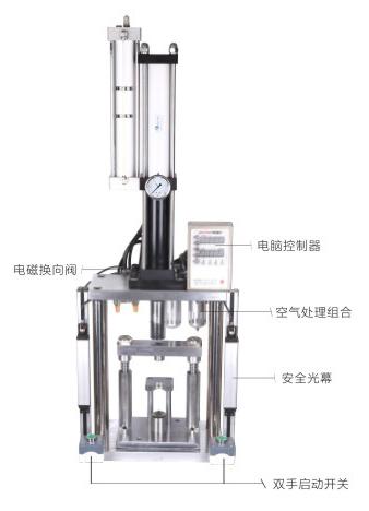 标准四柱气液增压机