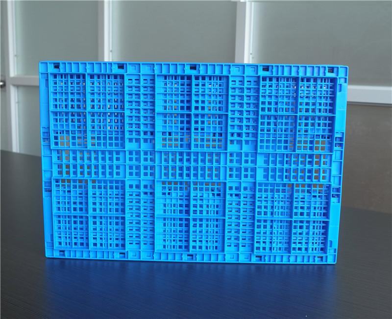 6432折疊周轉筐底部