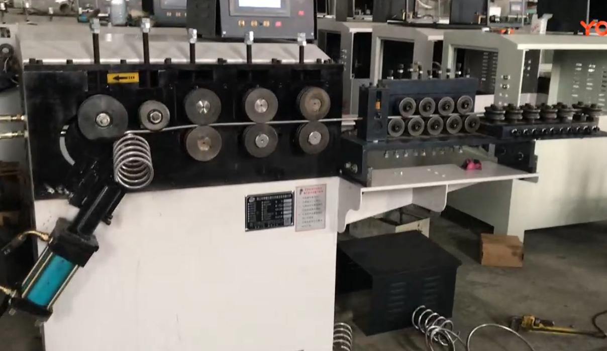 12mm弹簧打圈机操作视频