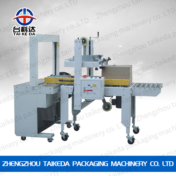 Automatic package sealing machine