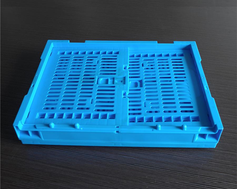 43245折叠周转筐折叠正面