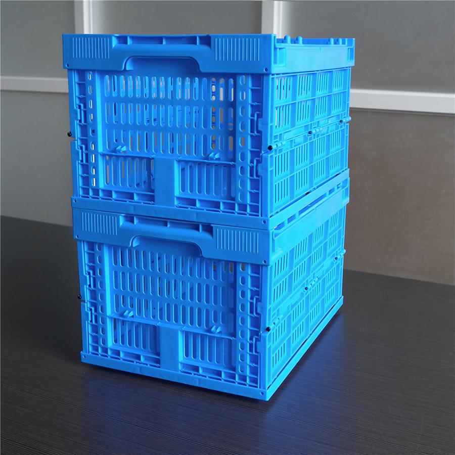 43245折叠周转筐展开堆码