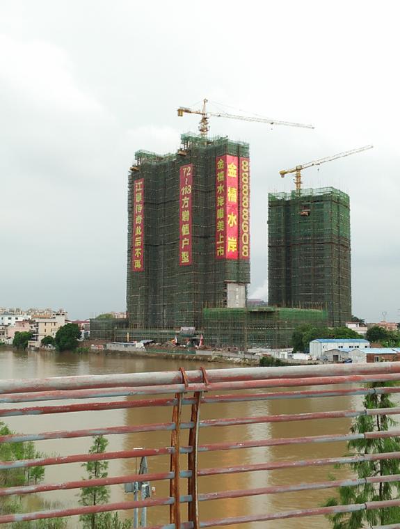 金禧水岸墙体画工程