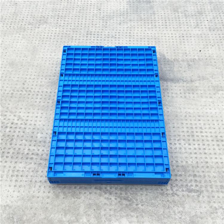 654436折疊周轉箱底部面