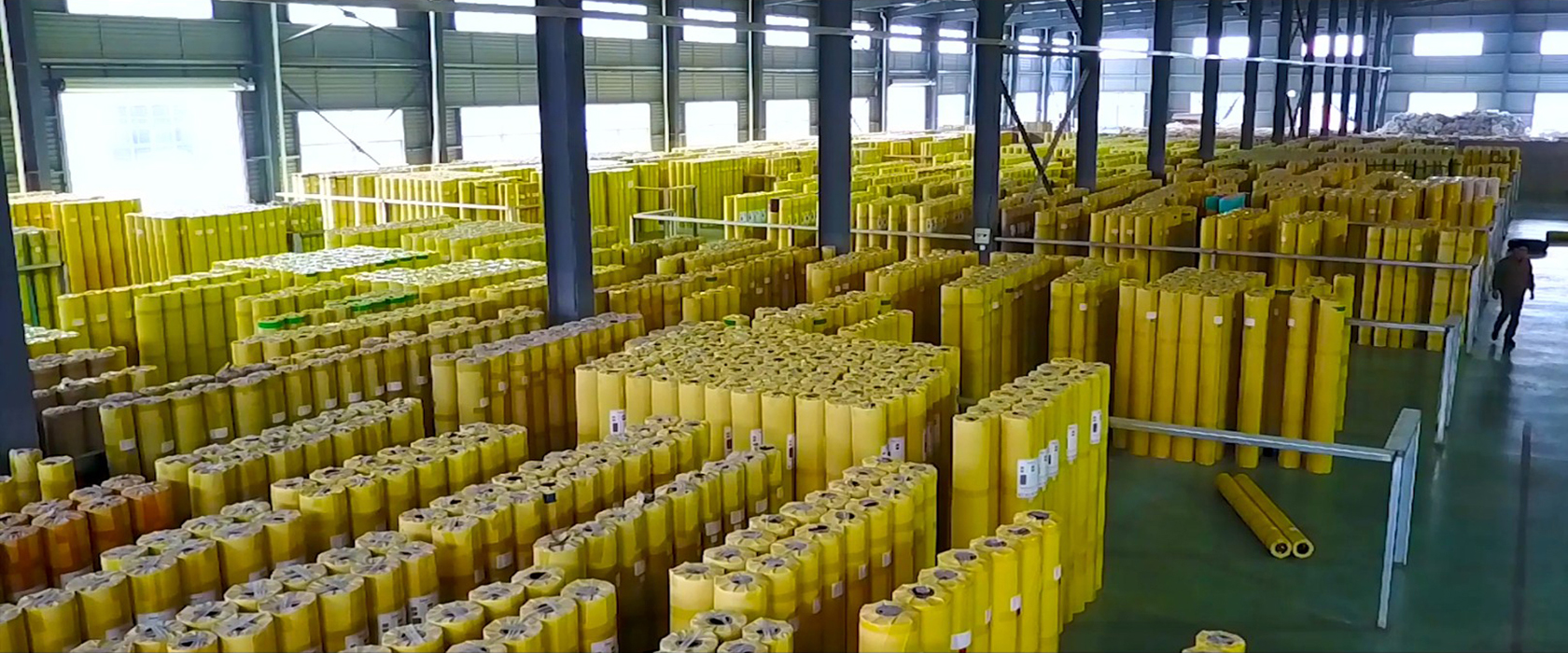 编织地板生产