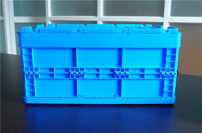 64295折疊周轉箱展開側面