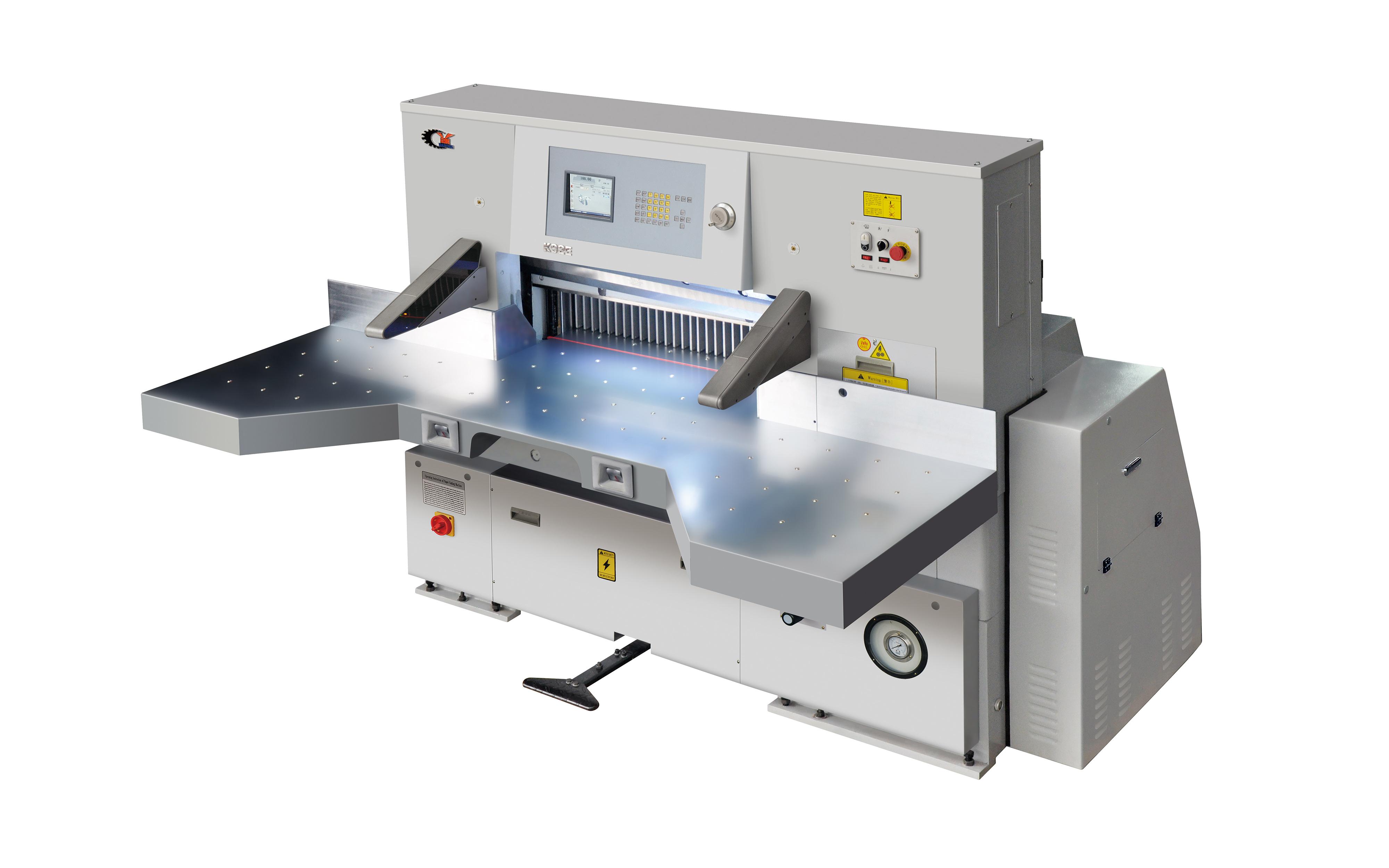 QZYK920EH-15触摸屏切纸机