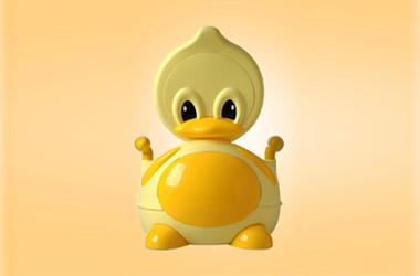 儿童座便器设计--小黄鸭