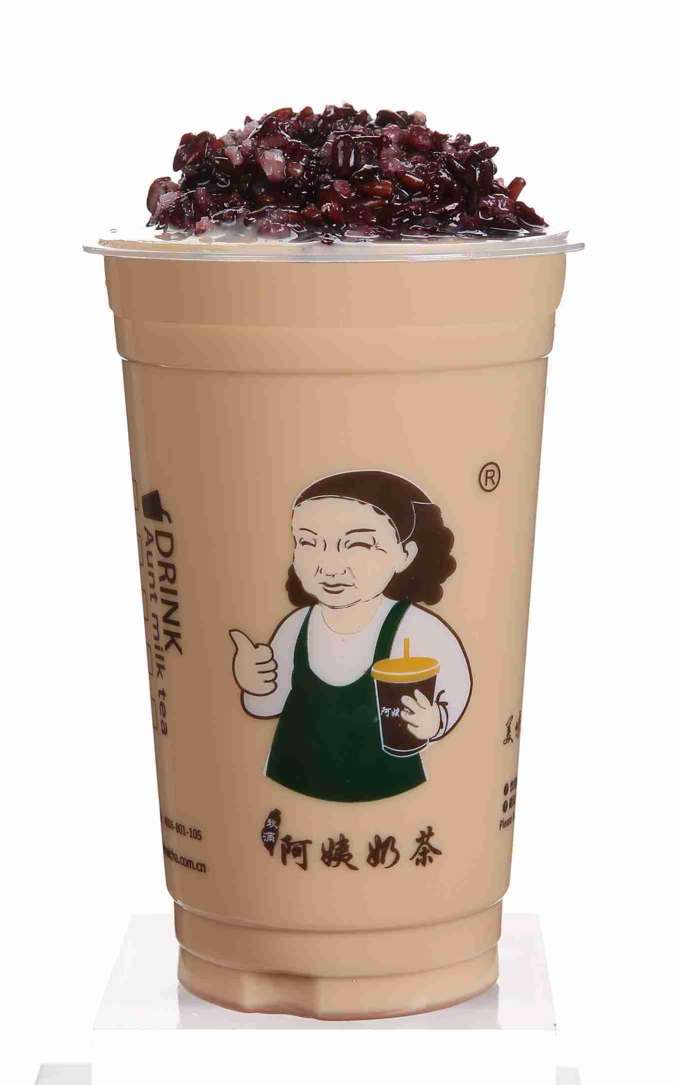 阿姨奶茶之血糯米奶茶