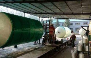 环保玻璃钢化粪池的制造