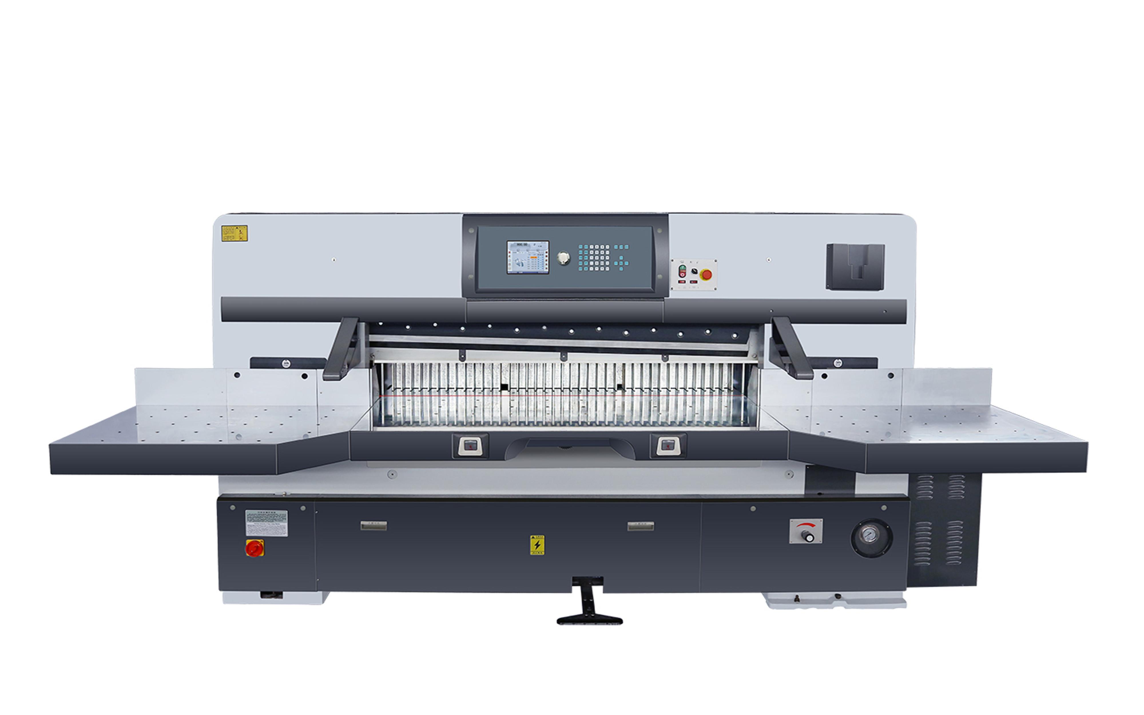 SQZK1620DH-10触摸屏双蜗轮切纸机