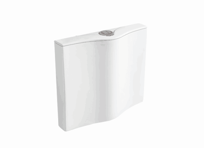 F2109钛瓷超薄冲水箱