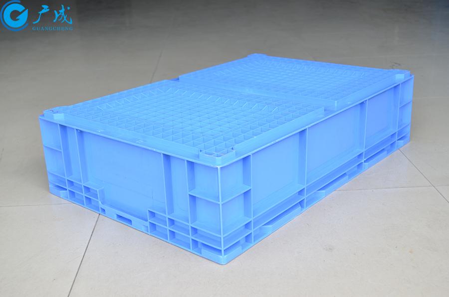 HP6B物流箱反面特写