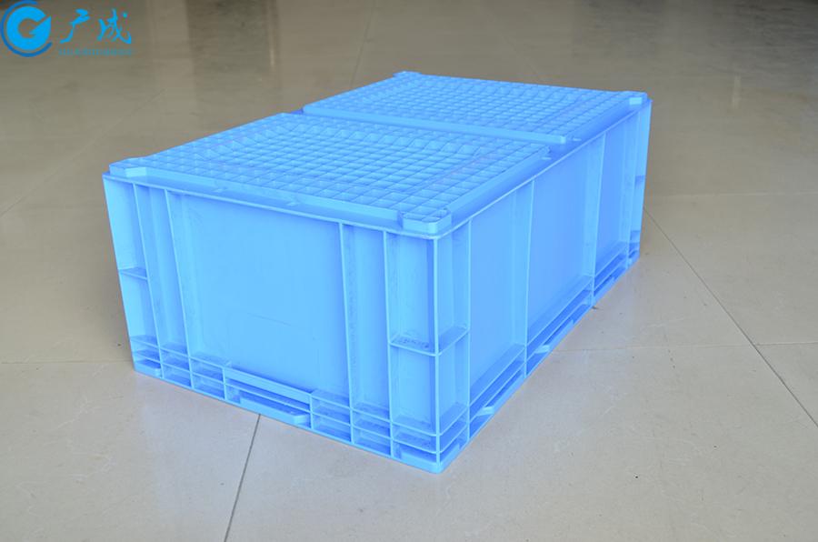 HP6D物流箱反面特写