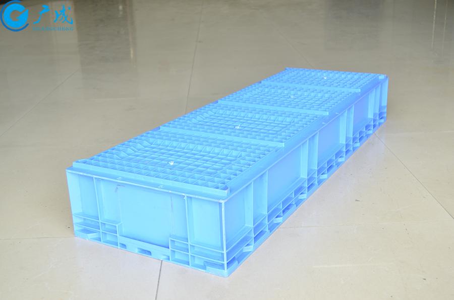 HP113B物流箱反面特写