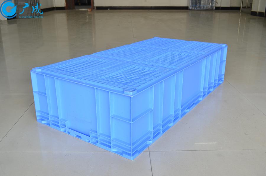 HP115D物流箱反面特写