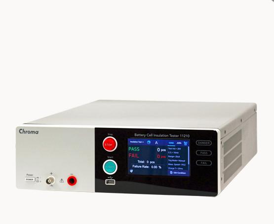 电池芯绝缘测试仪 chroma11210