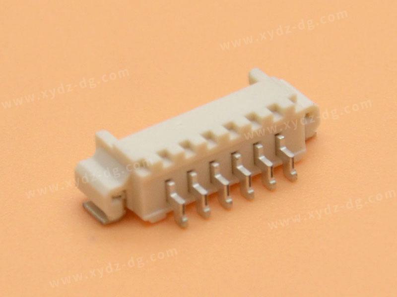 MX1.25 SMT 卧式连接器