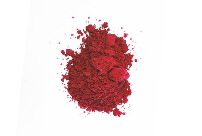 29度大红不含双氛A变色粉感温变色粉