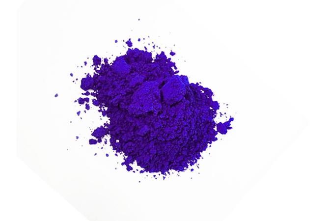 31度蓝色感温变色粉热敏变色粉