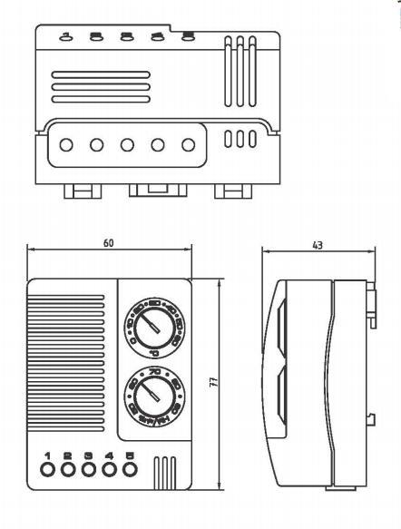 温湿度控制器-霆翔电气