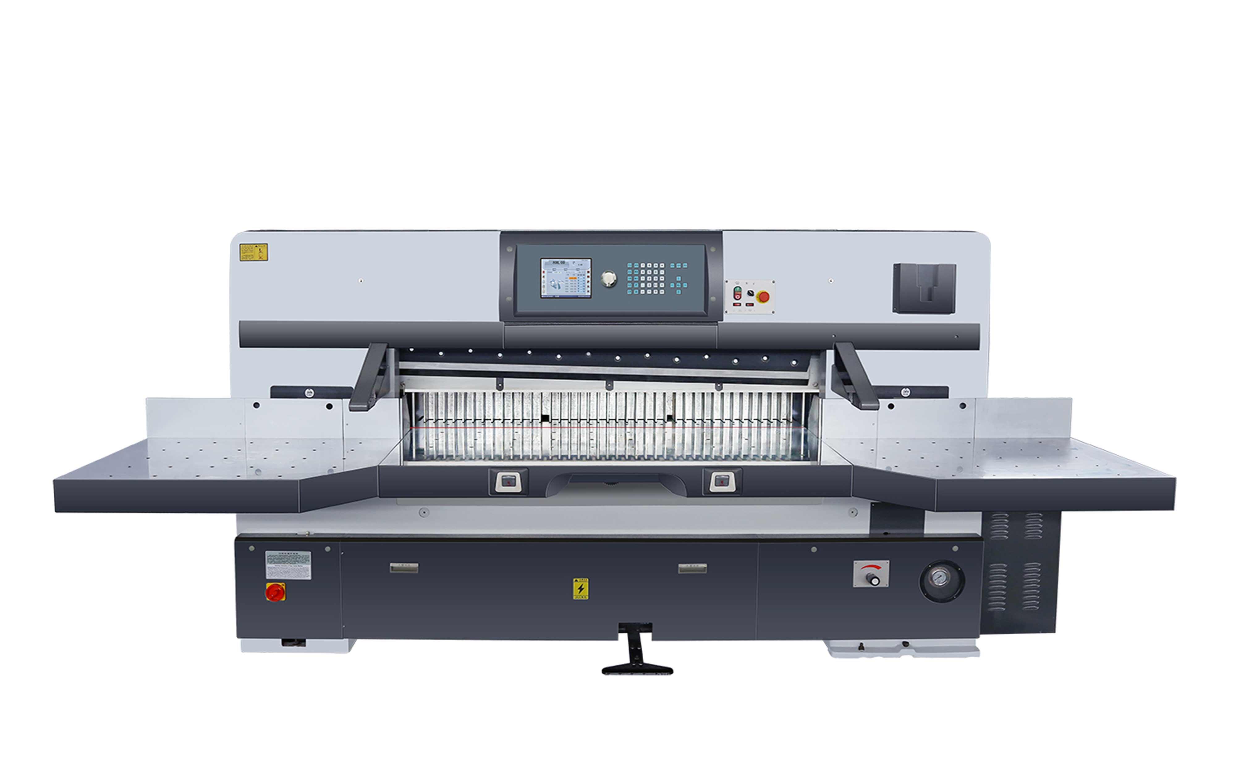 SQZK2200DH-10触摸屏双蜗轮切纸机