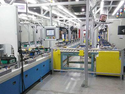 汽车座椅自动化生产线