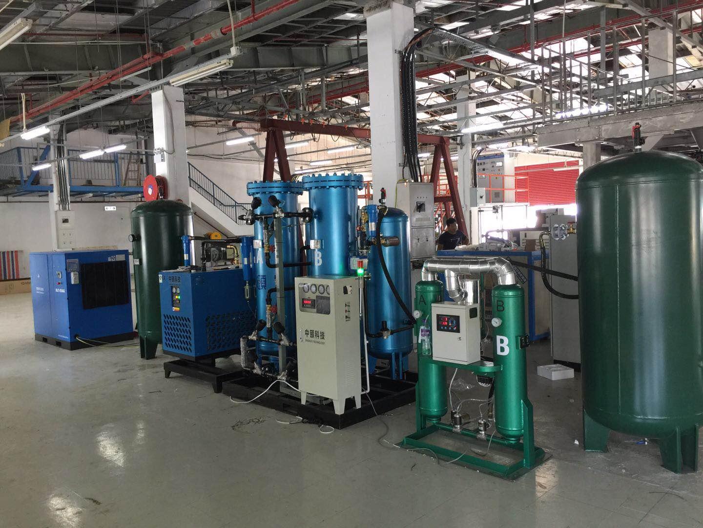 出口香港某工厂高纯氮全套装置开机运营