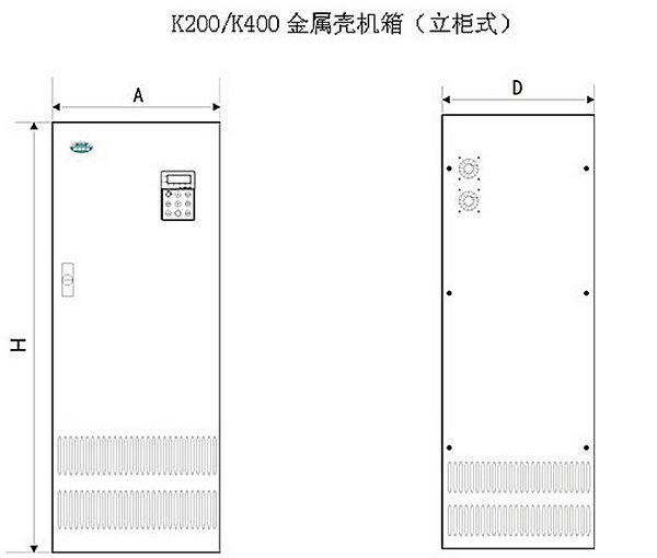 機箱尺寸及安裝一覽表