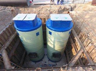 一体化泵站建设