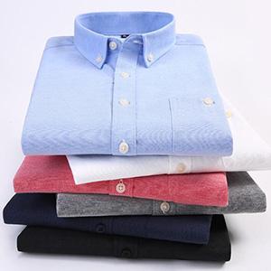 牛津纺衬衫定做_长袖衬衫批发_免烫衬衫定做_男女款衬衫现货