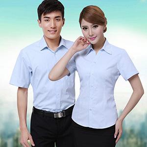 情侣款夏天衬衫_男女款短袖衬衫_上海工作衬衫