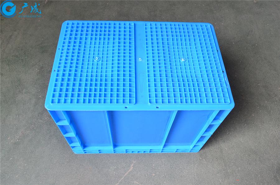 EU4644物流箱底部面