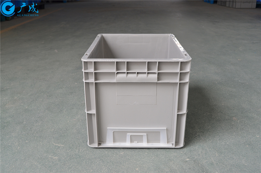 EU4328物流箱加强底把手面