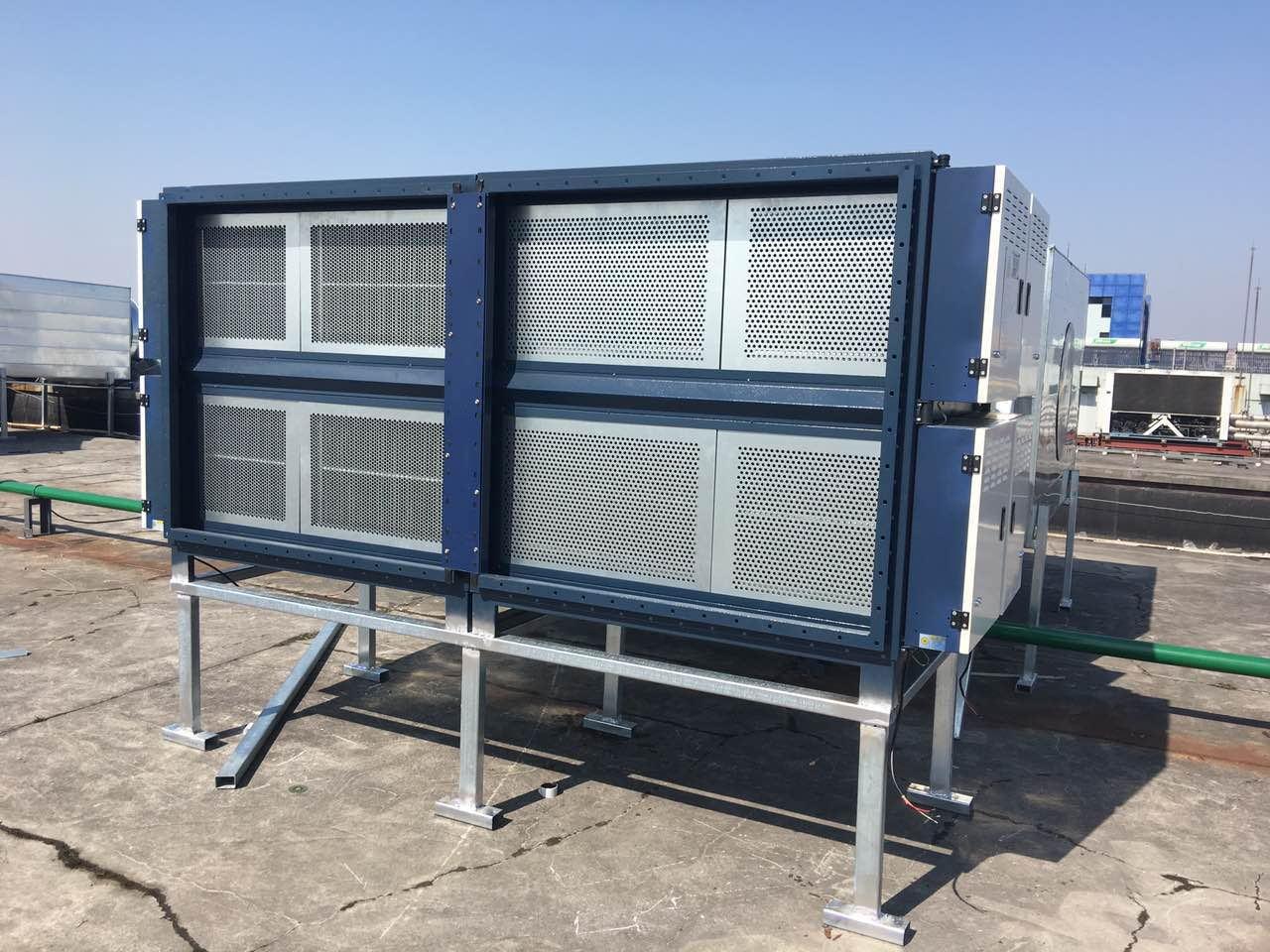 熔铝废气净化_工业烟气净化设备_低温等离子净化装置
