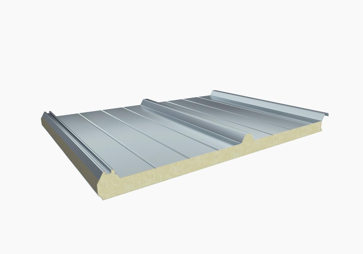 聚氨酯夾芯板由三部分組成
