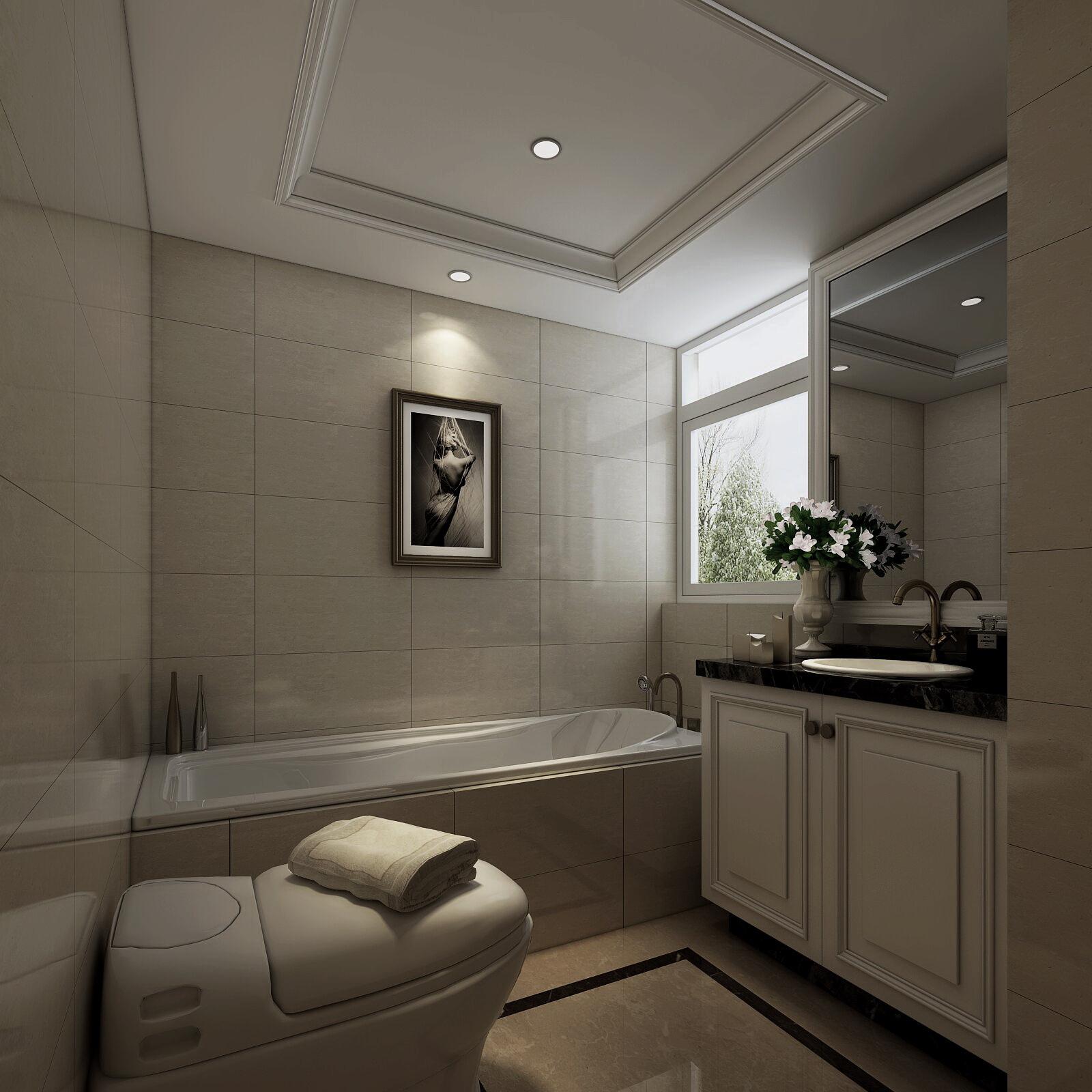 金地城效果图 浴室