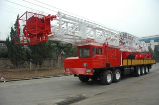 1500米车装钻机