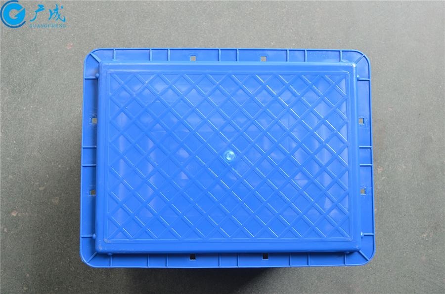 EU4328物流箱平底底部面