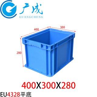 EU4328物流箱(平底)
