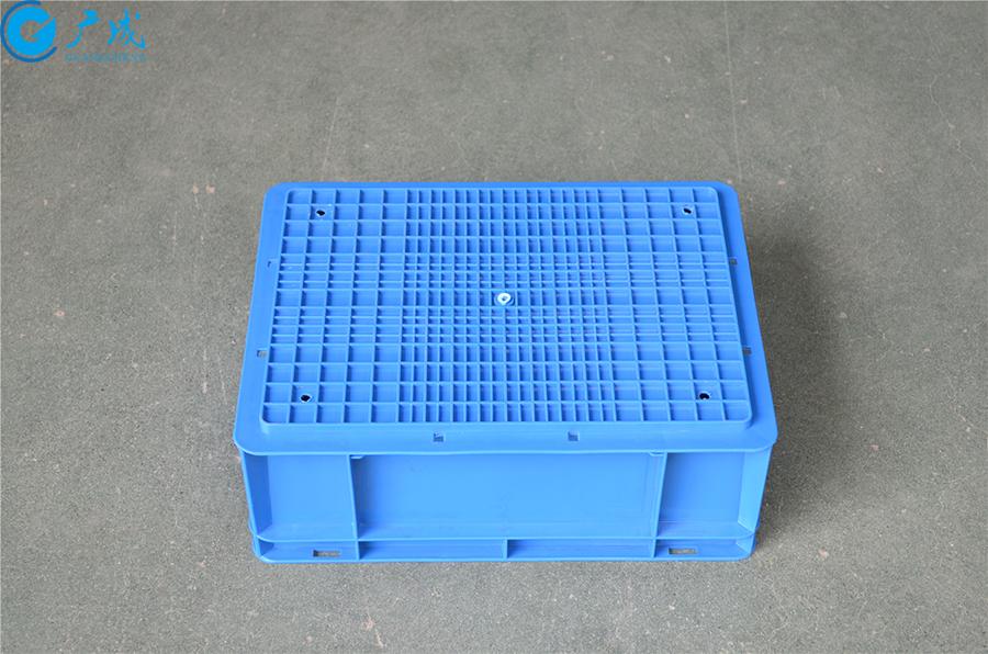 EU43148物流箱加强底底部面