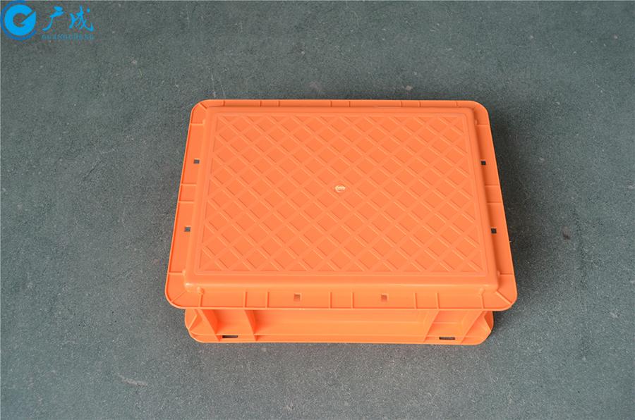 EU43148物流箱平底底部面
