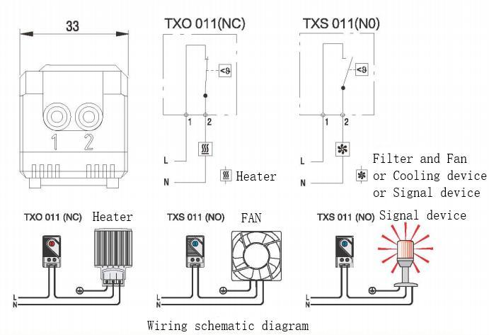 溫控器-霆翔電氣