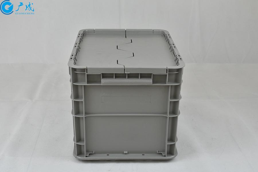 GM4328翻盖物流箱把手面
