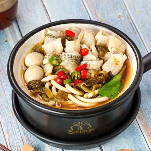 酸菜魚砂鍋