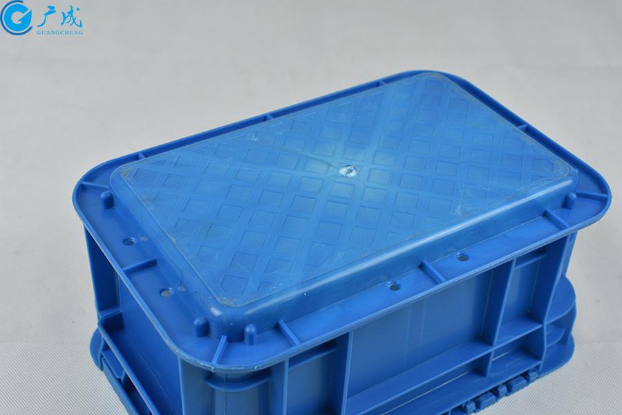 GM23148翻蓋物流箱底部特寫